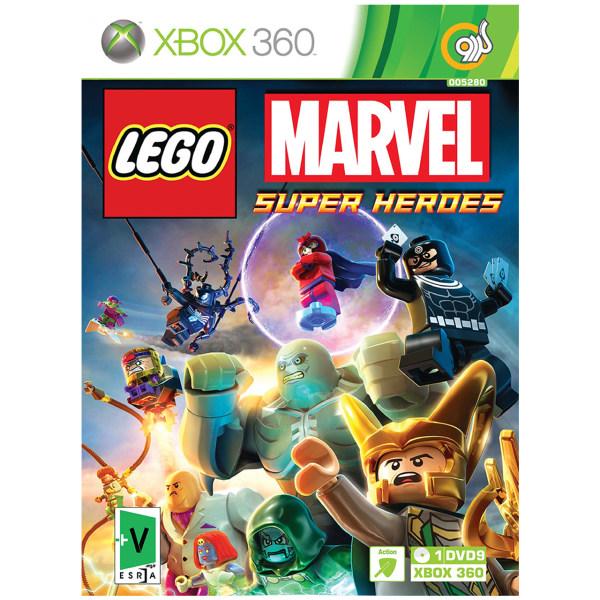 بازی گردو Lego Marvel Super Heroes مخصوص XBOX 360