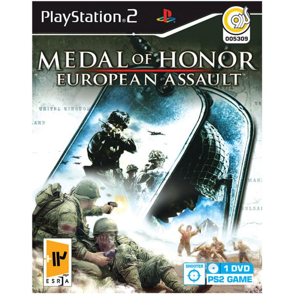 بازی گردو Medal Of Honor European Assault مخصوص PS2