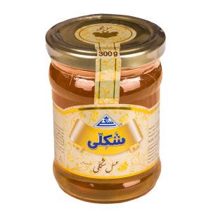 عسل طبیعی شکلی مقدار 300 گرم