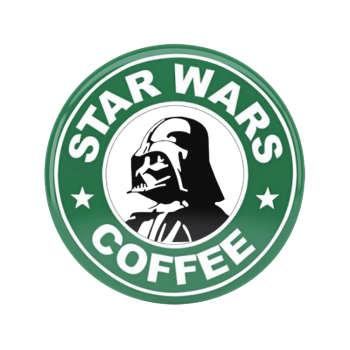 پیکسل طرح Darth Vader Starbucks