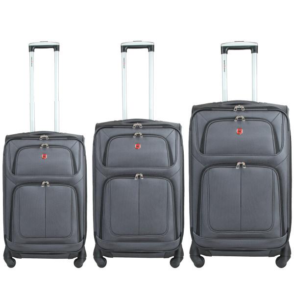 مجموعه سه عددی چمدان سوییس گیر مدل 02255590