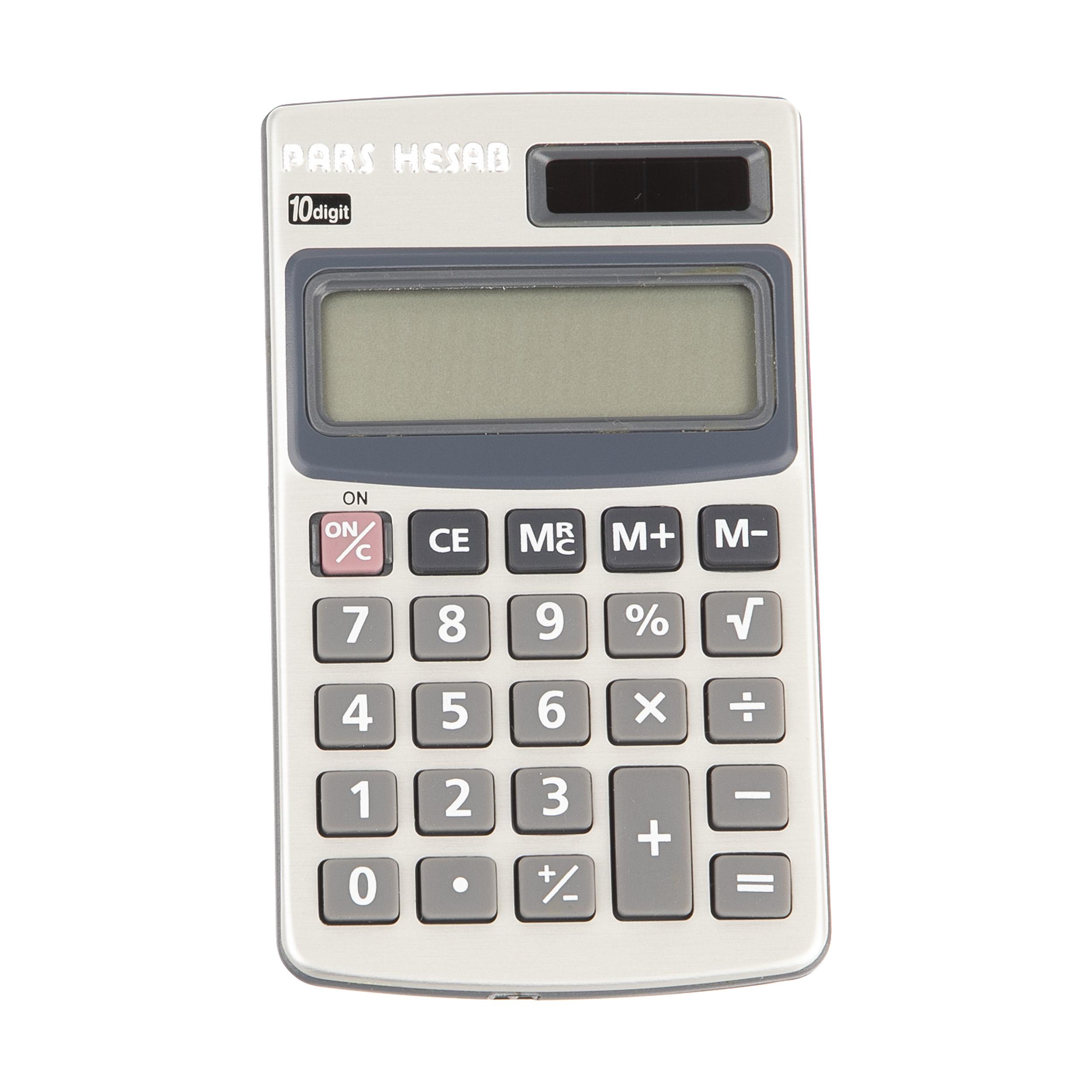 ماشین حساب پارس حساب مدل PS-100L