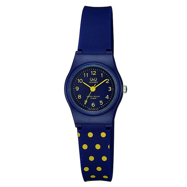 ساعت مچی عقربه ای زنانه کیو اند کیو مدل vp47j030y به همراه دستمال مخصوص کلین واچ 48
