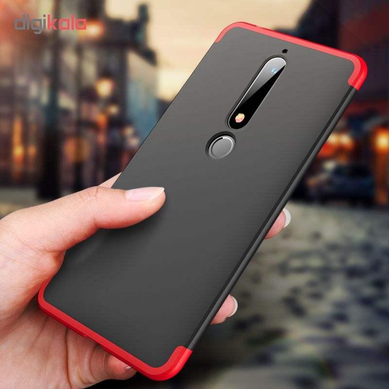 کاور 360 درجه جی کی کی مدل G-02 مناسب برای گوشی موبایل نوکیا 6 2018 main 1 3
