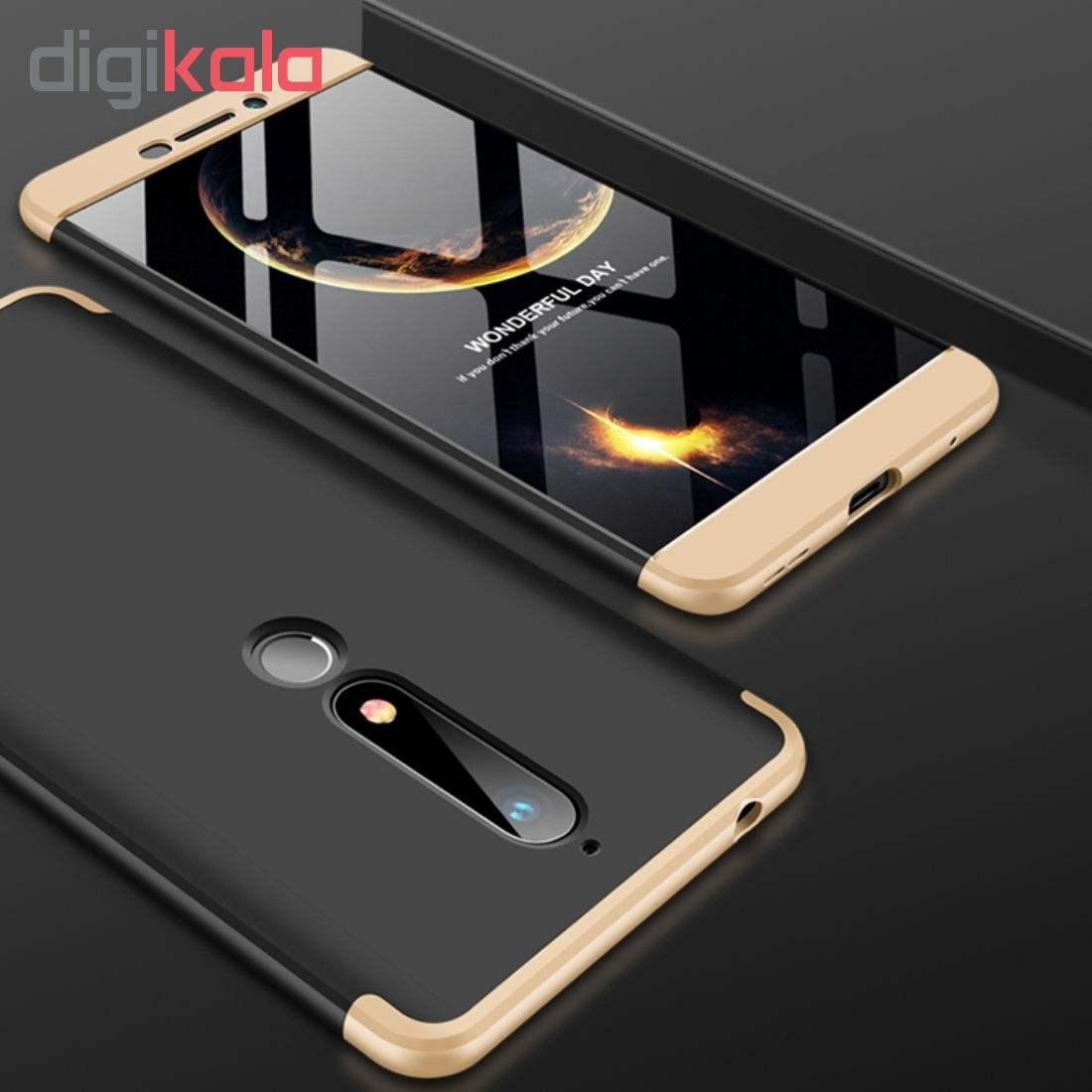 کاور 360 درجه جی کی کی مدل G-02 مناسب برای گوشی موبایل نوکیا 6 2018 main 1 4
