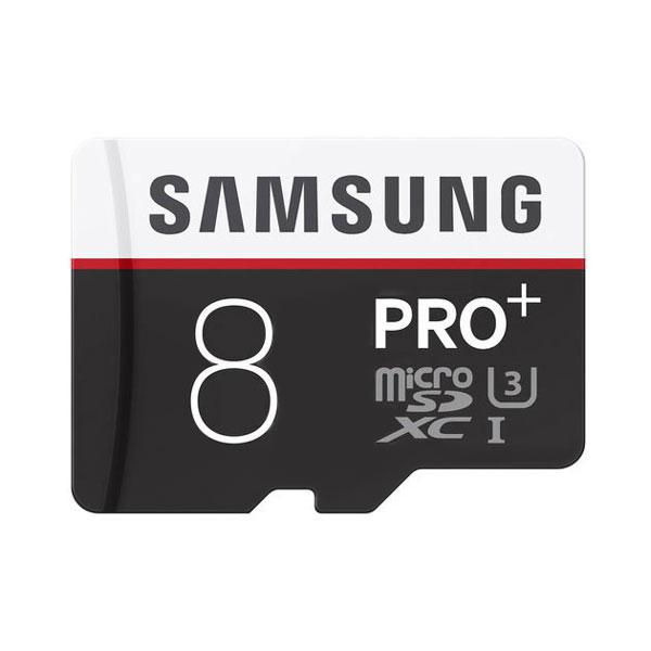 کارت حافظه microSDXC سامسونگ مدل pro کلاس 10 استاندارد U3 سرعت 80MBps ظرفیت 8 گیگابایت