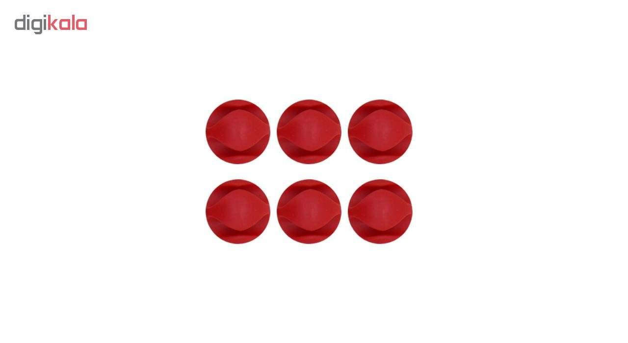 محافظ کابل شارژ کد 123مجموعه 15 عددی به همراه کیف هندزفری و برچسب آداپتور main 1 1
