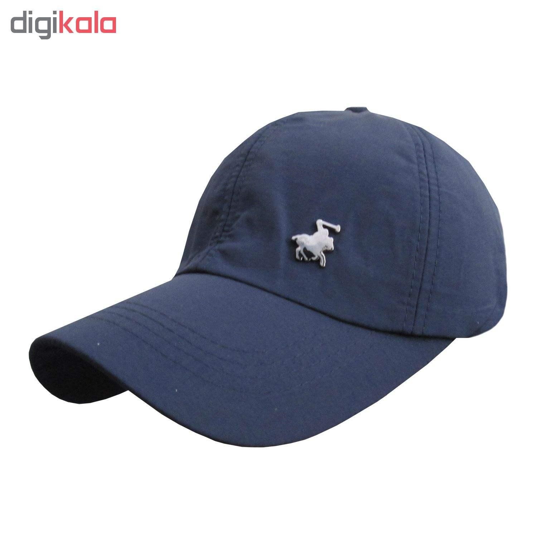 کلاه کپ مردانه مدل PL-01 کد 202 رنگ آبی main 1 7