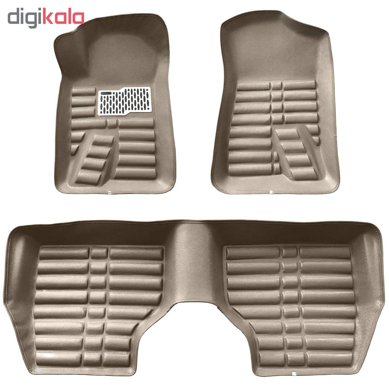 کفپوش سه بعدی خودرو ( پلی اورتان ) مناسب برای پژو 405 و سمند main 1 8