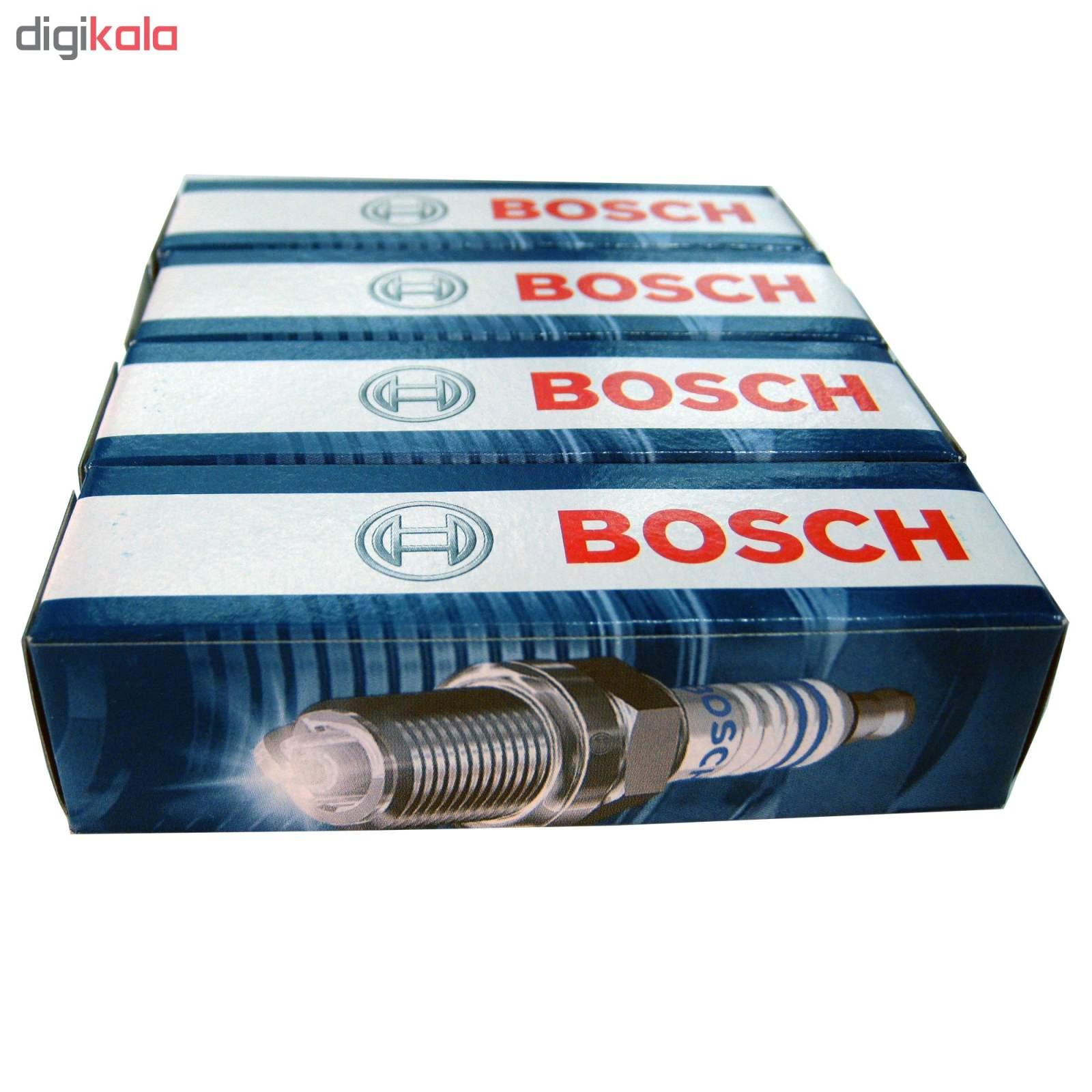 شمع خودرو بوش مدل Plus 8 بسته 4 عددی main 1 4