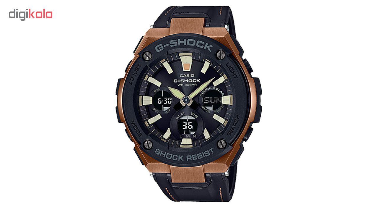 خرید ساعت مچی عقربه ای مردانه کاسیو مدل GST-S120L-1ADR | ساعت مچی