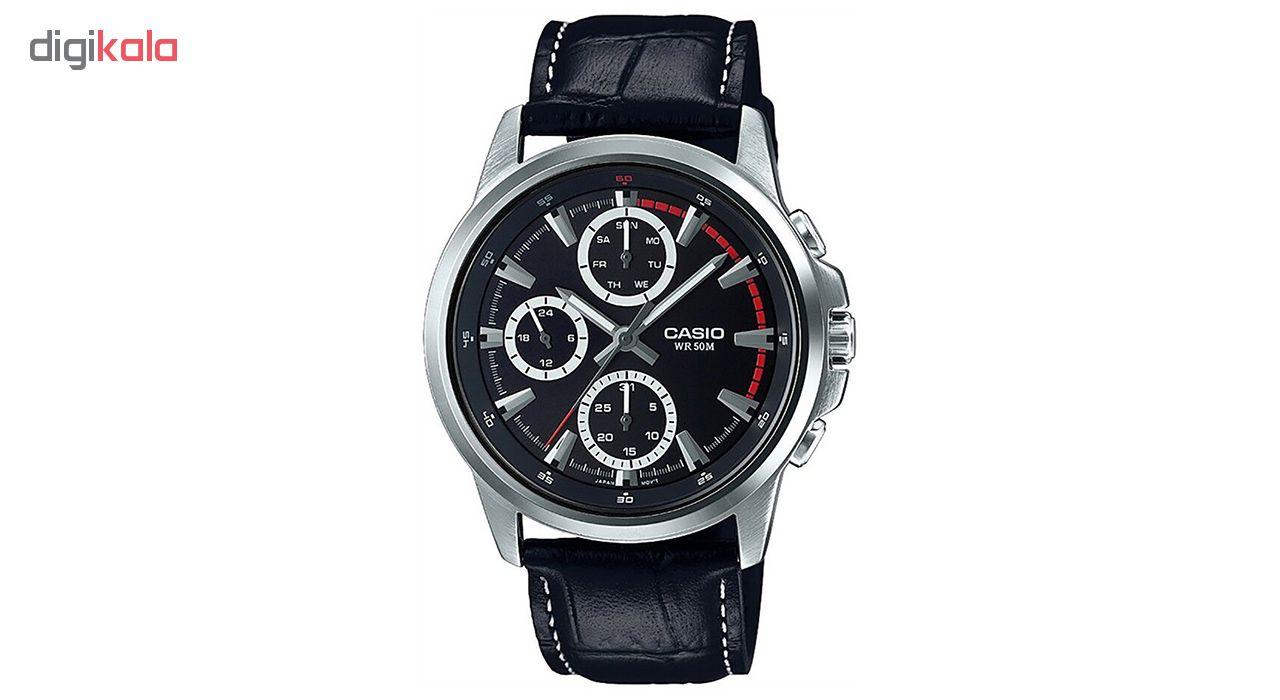خرید ساعت مچی عقربه ای مردانه کاسیو مدل MTP-E317L-1AVDF