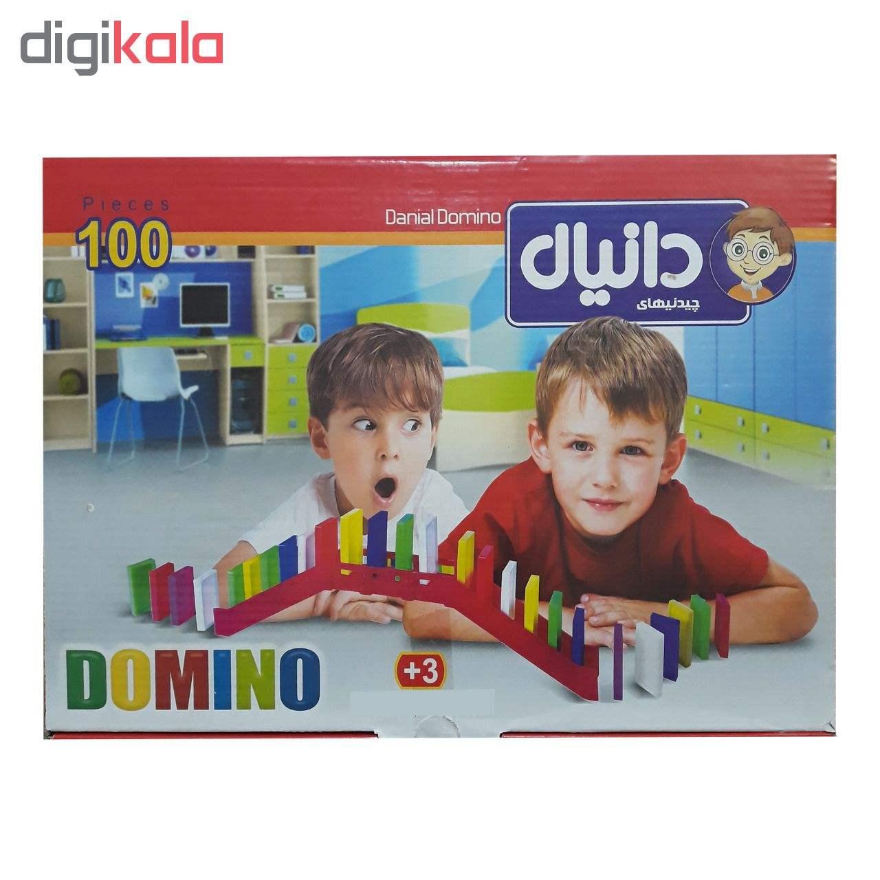 بازی فکری چیدنیهای دانیال طرح دومینو کد D100-T