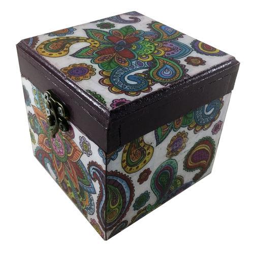 جعبه هدیه چوبی کد 04