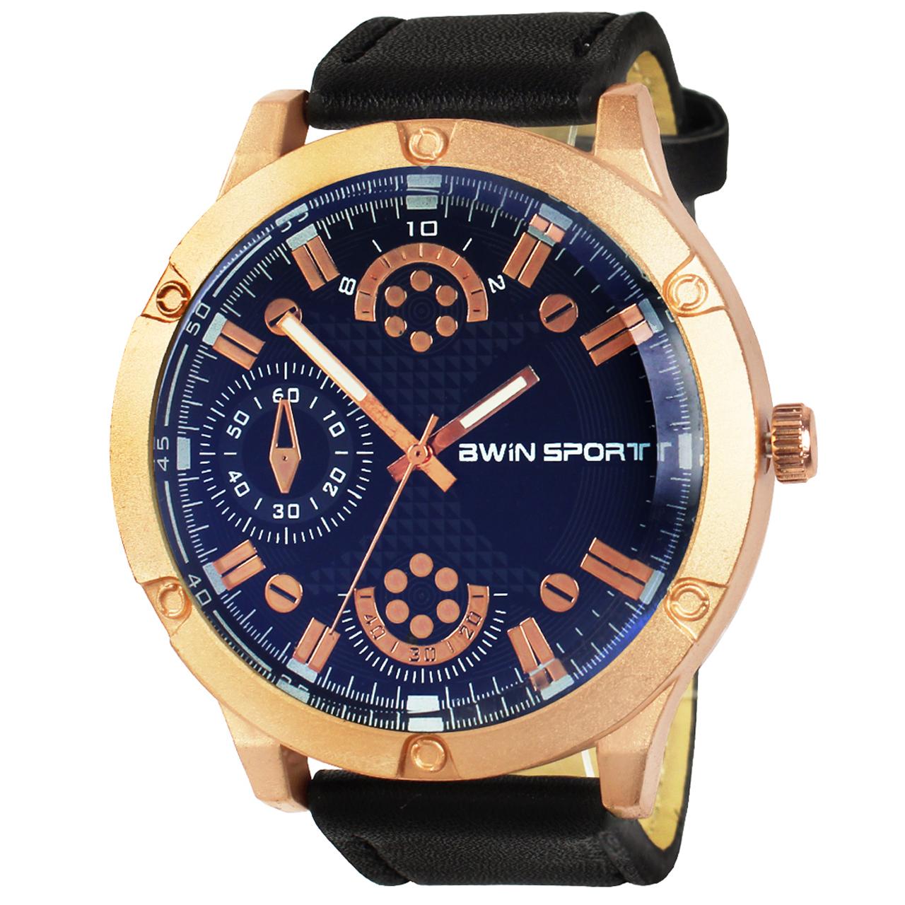 ساعت مچی عقربه ای مردانه آوین اسپرت مدل Series 7-5 8