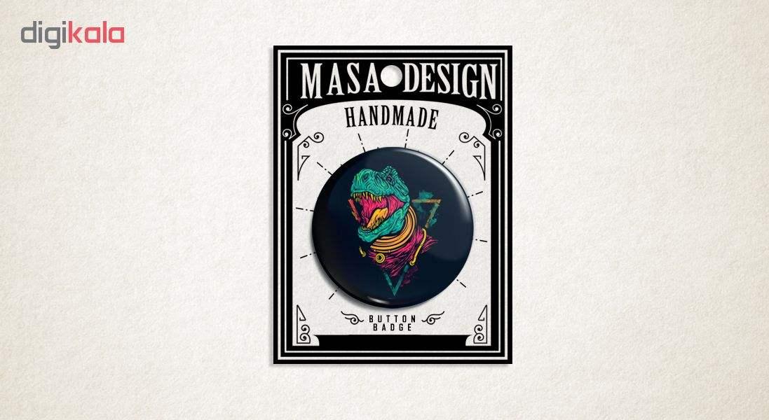 پیکسل ماسا دیزاین طرح دایناسور استیکر کد AS246 main 1 3
