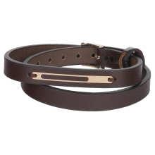 دستبند طلا 18 عیار مردانه مدیاگلد مدل MGL-D0288