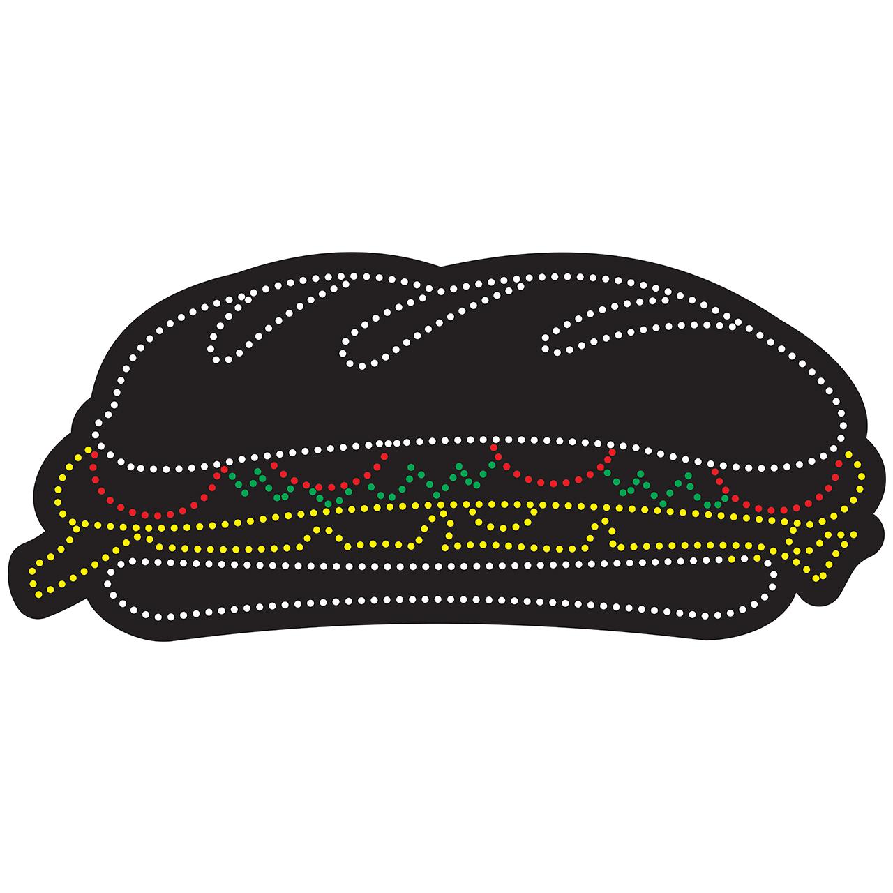 تابلو ال ای دی ساندویچ کد 10353