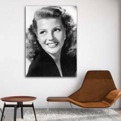 تابلو شاسی طرح Rita Hayworth مدل Artist 0278