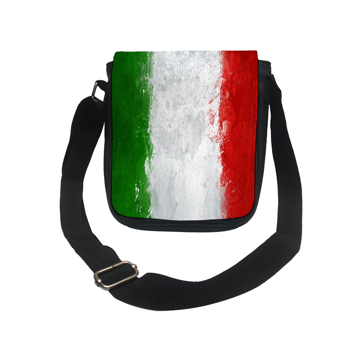 کیف دوشی طرح پرچم کشور ایتالیا کد k159