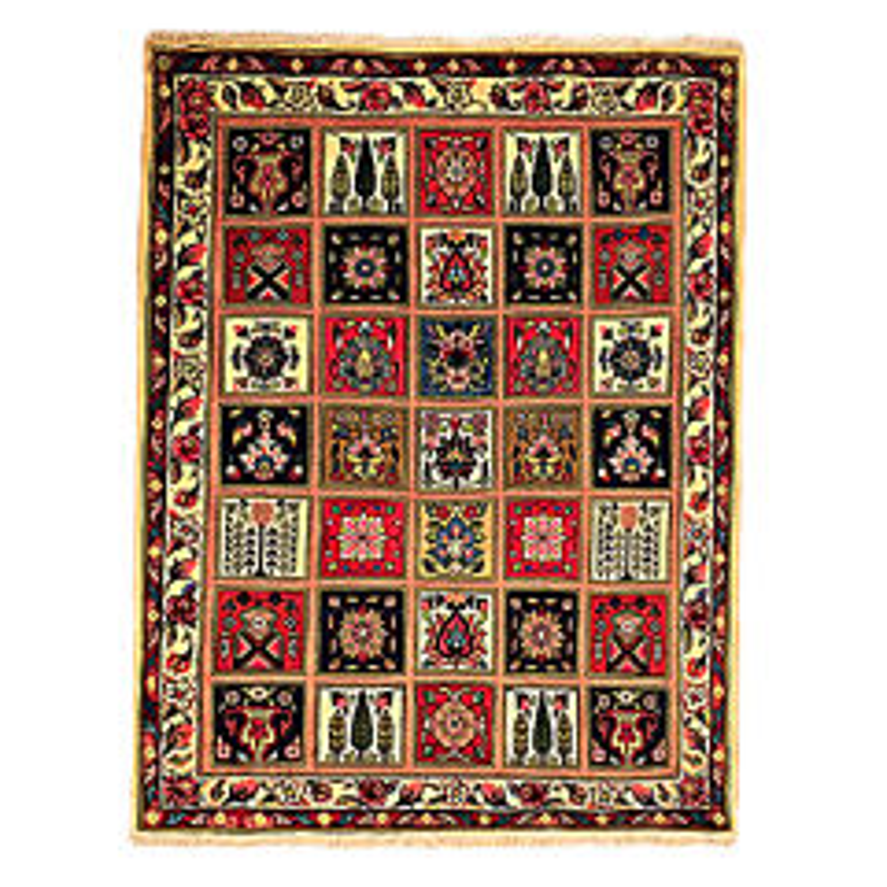 فرش دستباف دو متری گالری نور کد H1796