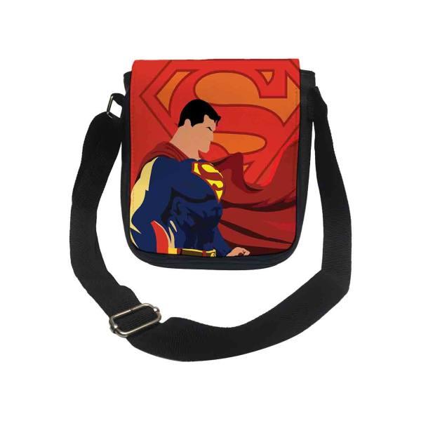 کیف رودوشی پسرانه طرح سوپرمن کد k167