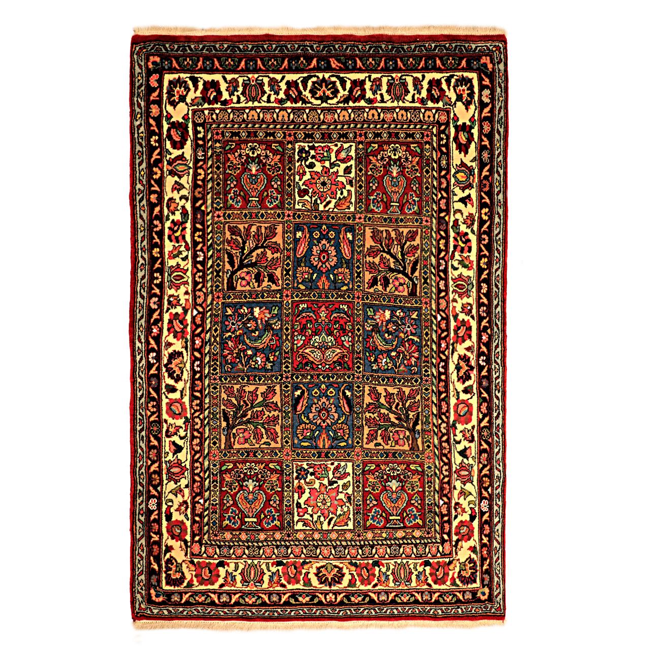 فرش دستباف دو متری گالری نور کد H1797