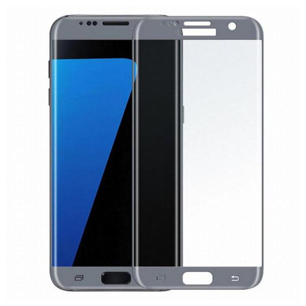 محافظ صفحه نمایش شیشه ای تمپرد مدل Full Cover مناسب برای گوشی موبایل سامسونگ Galaxy S7 Edge thumb