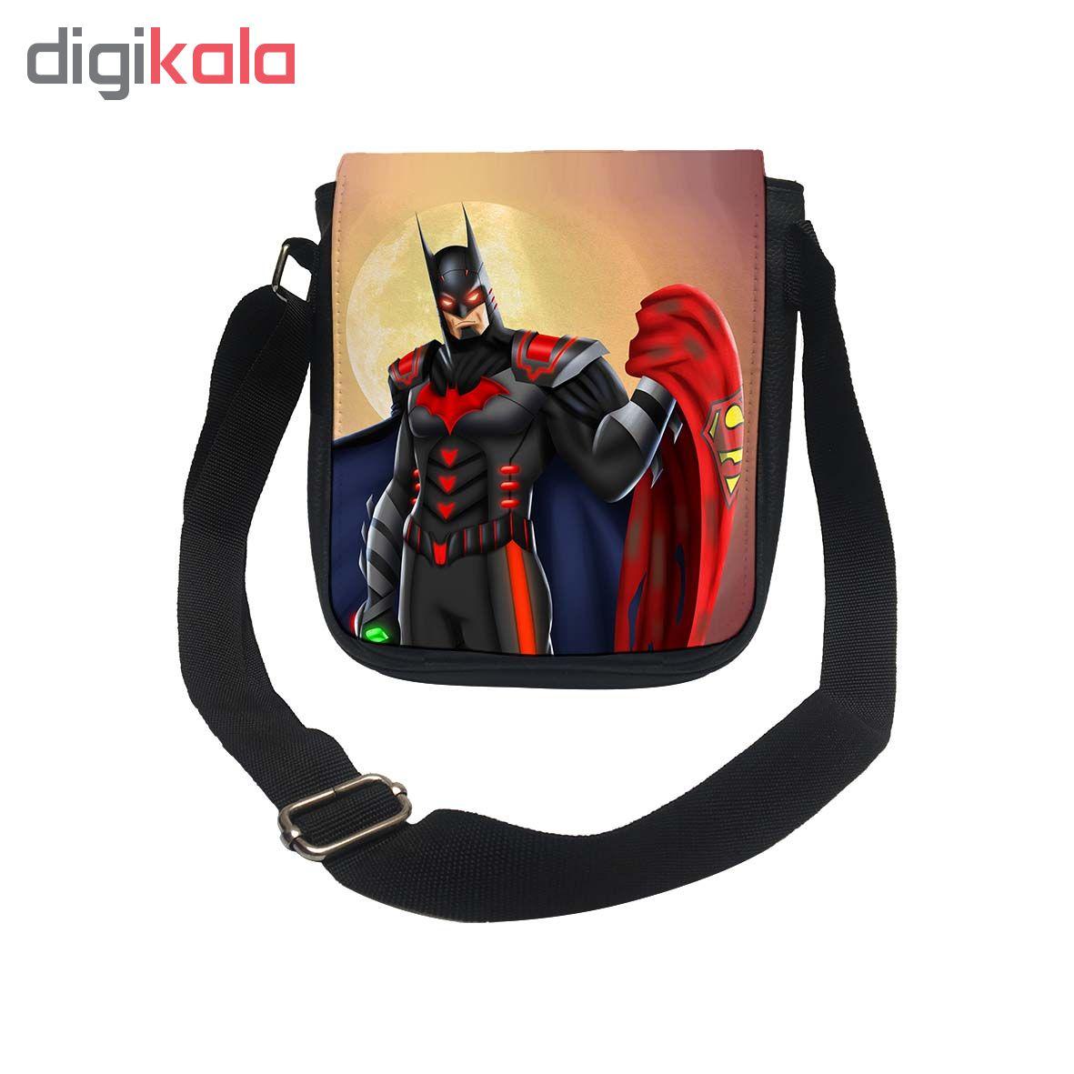 کیف دوشی طرح بتمن سوپرمن کد k171