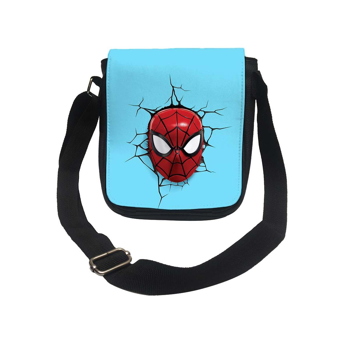 عکس کیف دوشی طرح مرد عنکبوتی کد k176