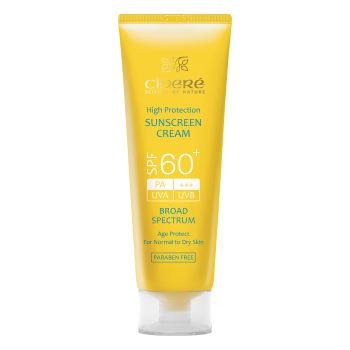 قیمت کرم ضد آفتاب سینره SPF60 حجم 50 میلی لیتر