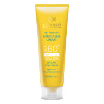 کرم ضد آفتاب سینره SPF60 حجم 50 میلی لیتر