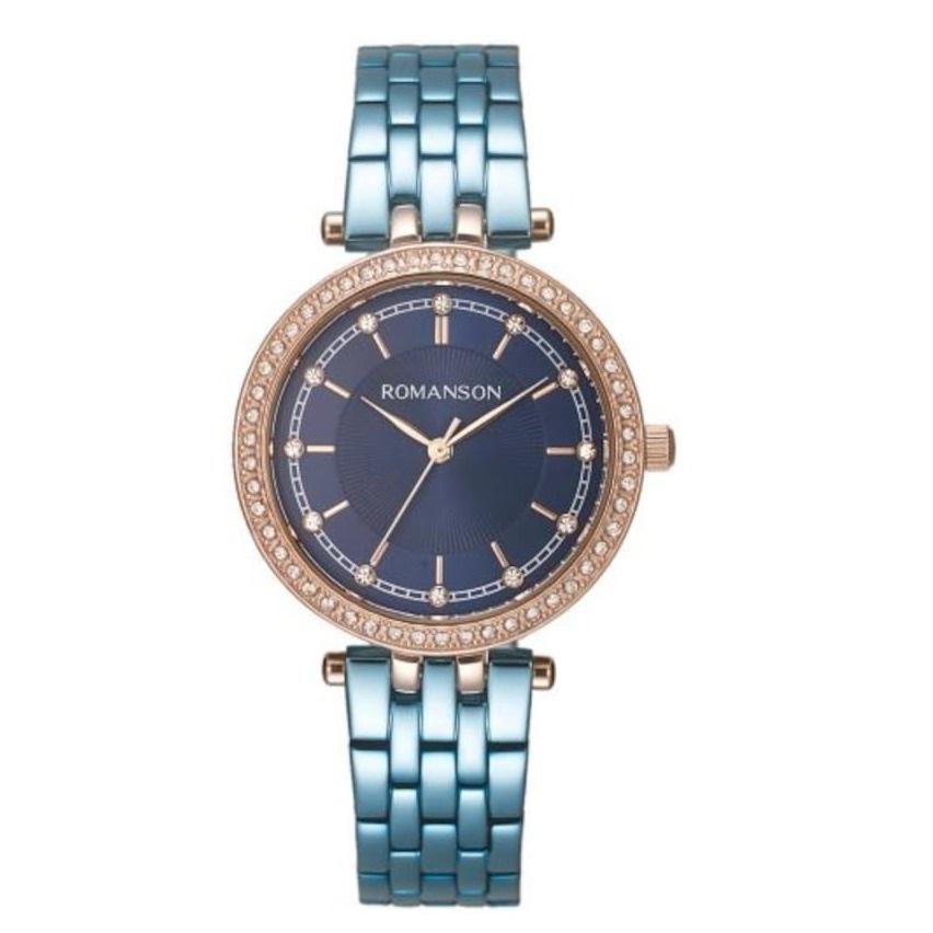 ساعت مچی عقربه ای زنانه رومانسون مدل RM8A17TLURA46R 47