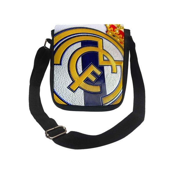 کیف رودوشی پسرانه طرح تیم رئال مادرید کد k182