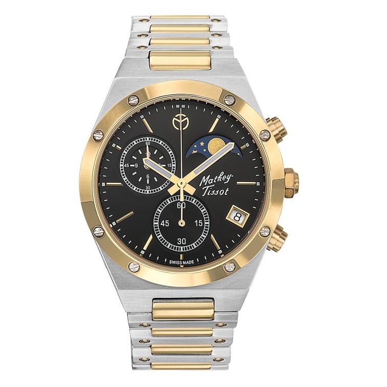 ساعت مچی عقربه ای مردانه متی تیسوت مدل  H680CHBN 34