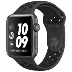 33a6e7ec1 ساعت هوشمند اپل واچ سری 3 مدل Nike Plus 42mm Space Gray Aluminum Case with  Anthracite