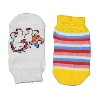 جوراب دخترانه پاآرا مدل 6-7-702 | Pa-ara 702-7-6 Socks for Girls