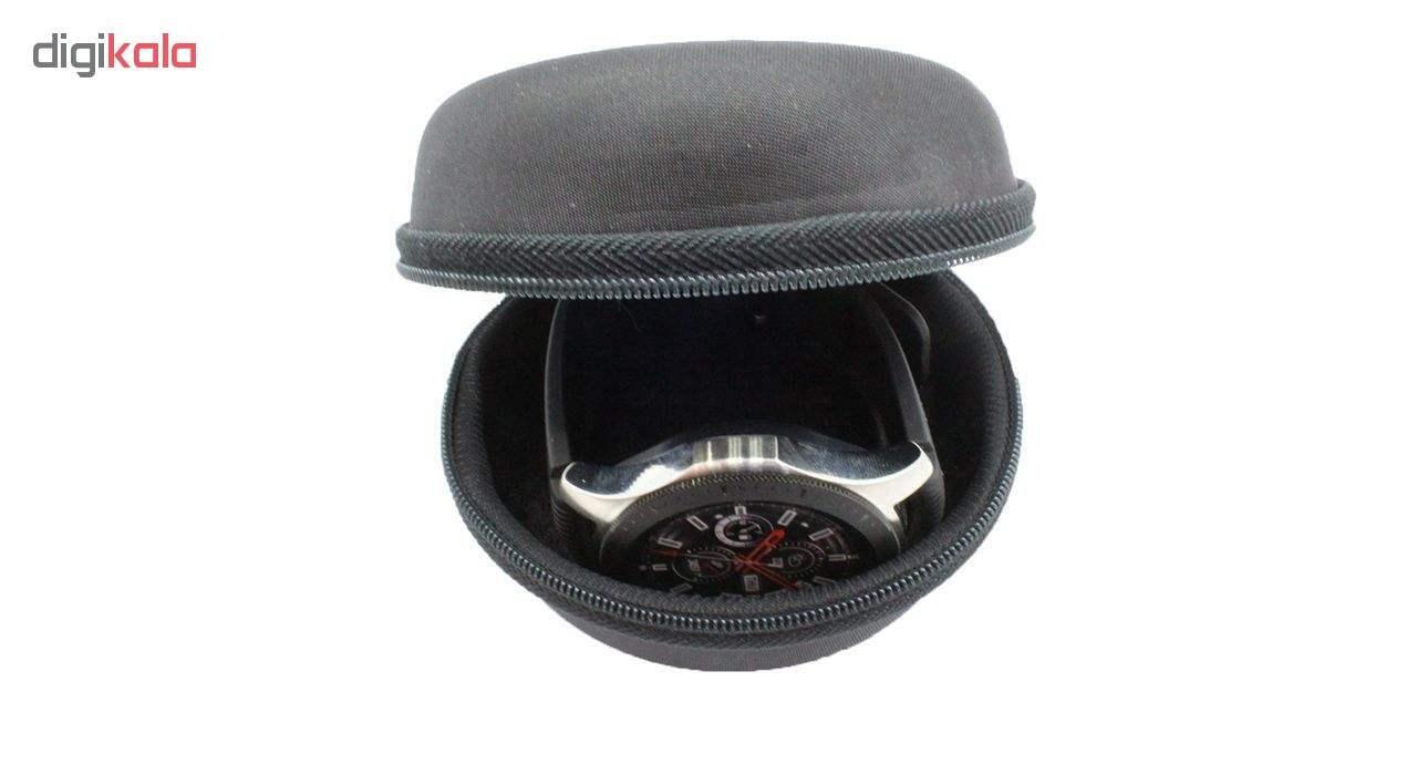 بند مدل Three Pointer به همراه کیف نگهداری ساعت مناسب برای ساعت های سامسونگ Gear S3 / Galaxy Watch 46mm main 1 3