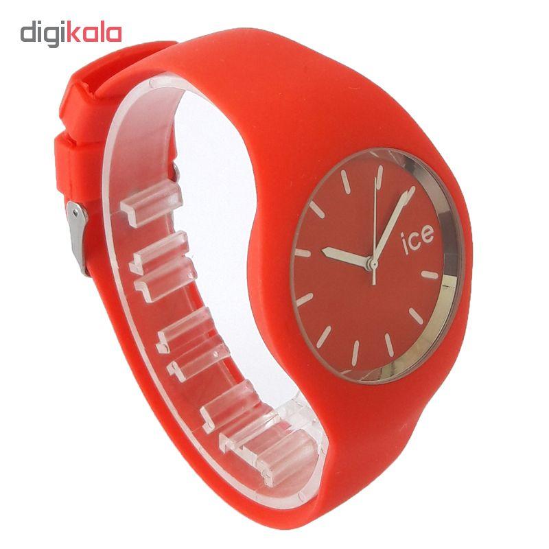 ساعت مچی عقربه ای زنانه مدل IS 9553 / GHER به همراه دستمال مخصوص نانو برند کلیر واچ