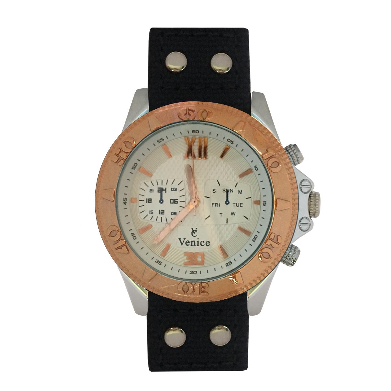 ساعت مچی عقربه ای مردانه ونیز مدل V8156
