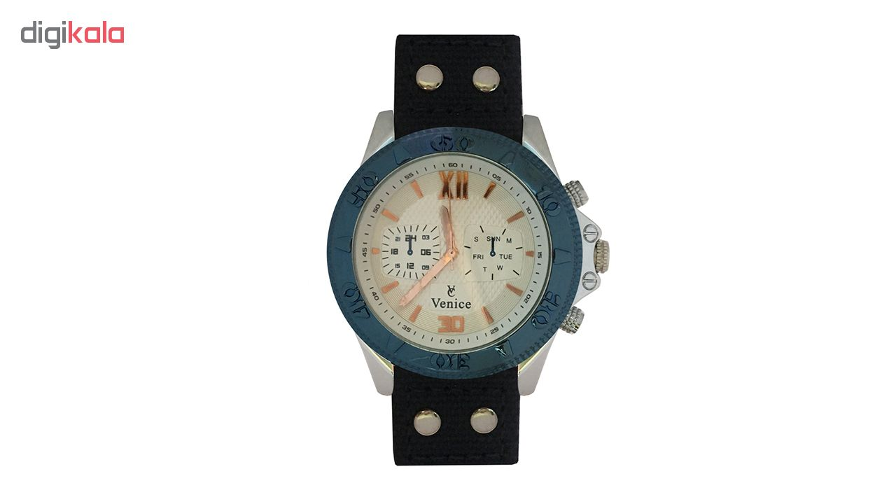 خرید ساعت مچی عقربه ای مردانه ونیز مدل V8156