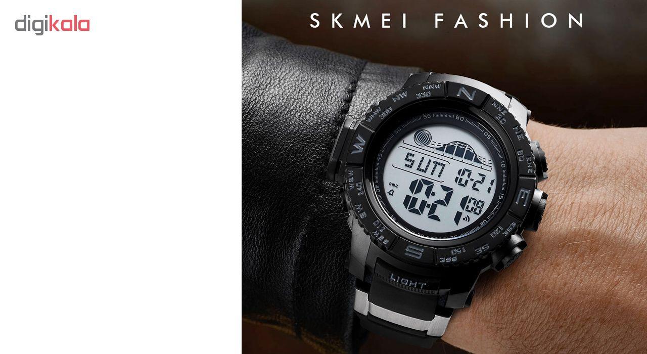 ساعت مچی دیجیتال مردانه اسکمی مدل 1380M             قیمت