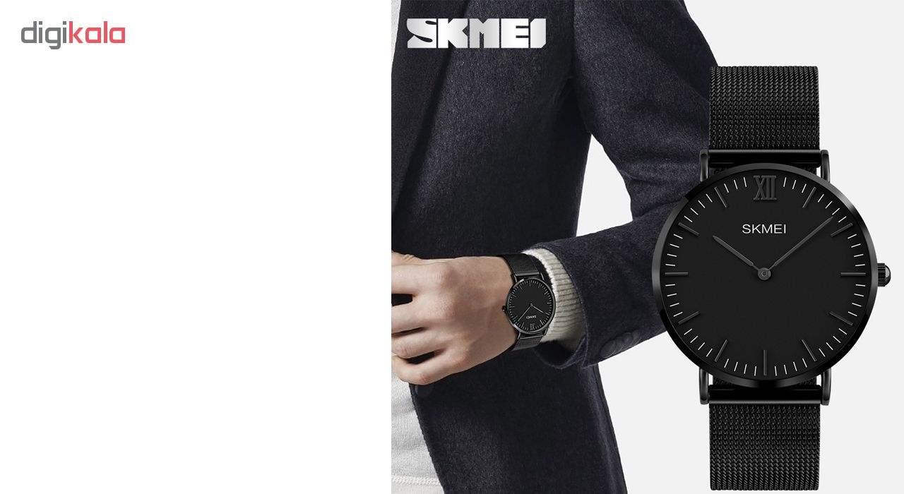ساعت مچی عقربه ای مردانه اسکمی مدل 1181MF -  - 4