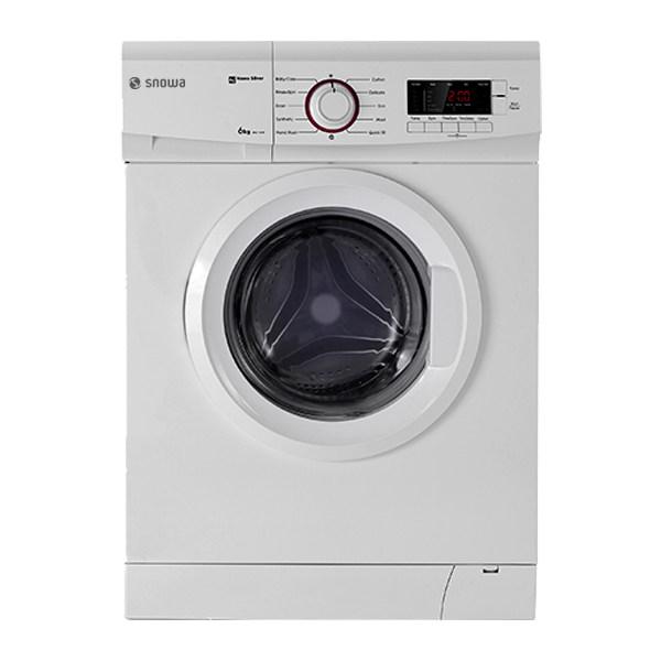 ماشین لباسشویی اسنوا مدل SWD-164W ظرفیت 6 کیلوگرم