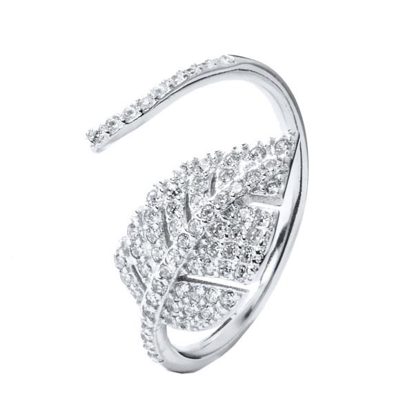 انگشتر نقره زنانه اقلیمه کد AN85