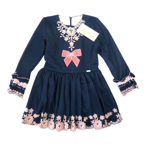 پیراهن دخترانه لاآماپولا مدل poppy vtb