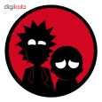 استیکر لپ تاپ طرح Rick & morty کد 01 thumb 1