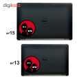 استیکر لپ تاپ طرح Rick & morty کد 01 thumb 3