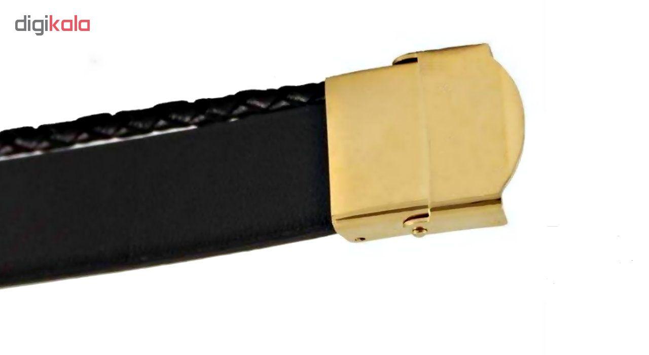 دستبند مردانه گالری آمانژ طرح پوریا کد D1960