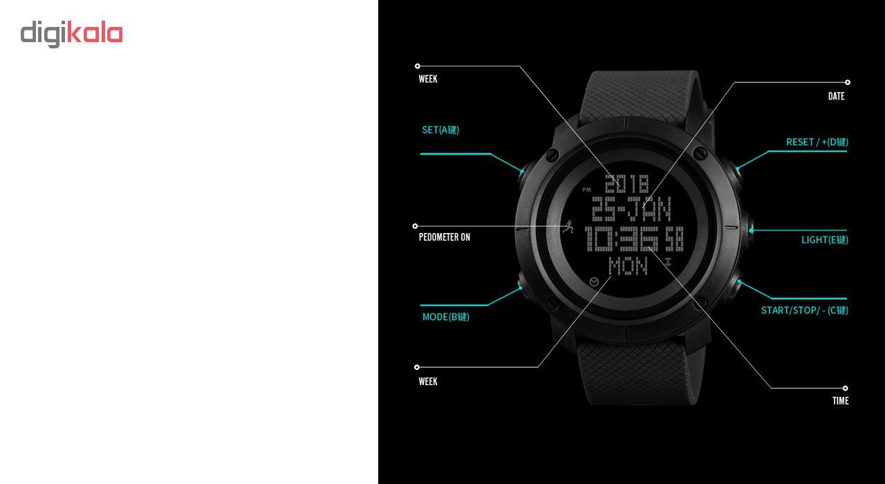 ساعت مچی دیجیتال اسکمی مدل 1430 -  - 4